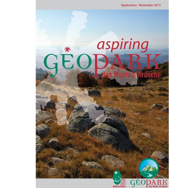 Le dossier geopark des Monts d'Ardèche