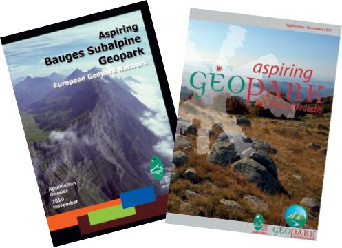 couvertures-Bauges-Ardèche-Geoparks